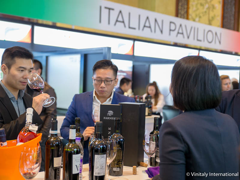 Vinitaly Inernational Academy at Chengdu 2018