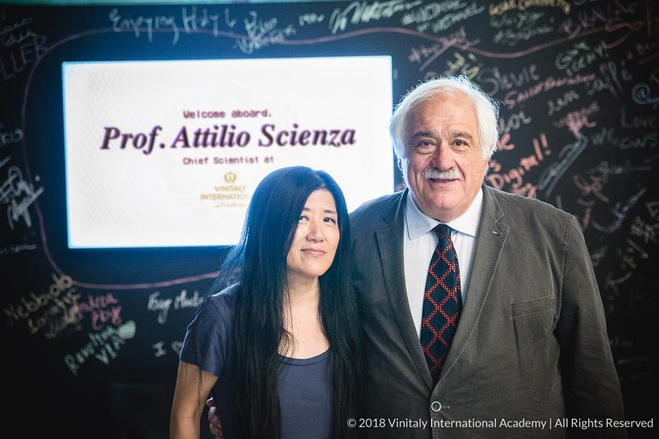 Vinitaly International Academy - Stevie Kim & Attilio Scienza