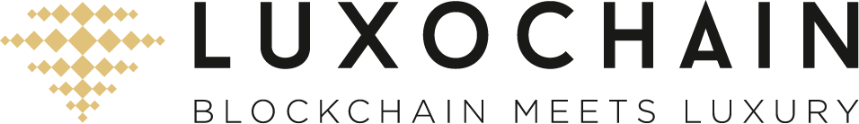 LUXOCHAIN blockchain meets luxury logo pdf-01
